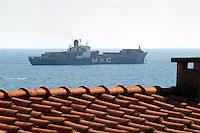 - cargo ship waiting to enter in La Spezia port....- nave da carico in attesa di entrare nel porto di la Spezia