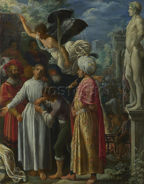 Full title: Saint Lawrence prepared for Martyrdom<br /> Artist: Adam Elsheimer<br /> Date made: about 1600-1<br /> The National Gallery, London