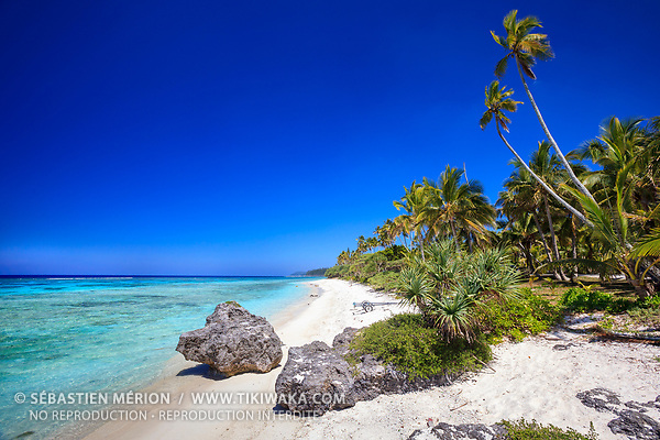 Plage de Wabao, Maré, Nouvelle-Calédonie