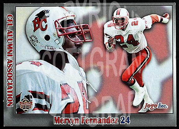 Mervyn Fernandez-JOGO Alumni cards-photo: Scott Grant