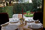Interior, Relais Le Jardin Restaurant, Florence, Tuscany, Italy