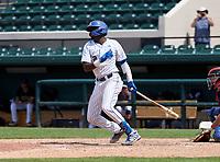 John Carroll Catholic Rams Jay Allen (2) bats the 42nd Annual FACA All-Star Baseball Classic on June 6, 2021 at Joker Marchant Stadium in Lakeland, Florida.  (Mike Janes/Four Seam Images)