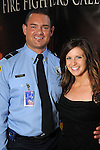 Firefighter Trent Vann and Annie Georgen at the 2013 Angel Awards at the Crystal Ballroom at the Rice Hotel Friday April 12, 2013.(Dave Rossman photo)