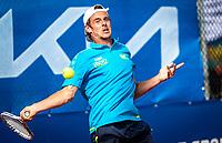 Netherlands, September 12,  2021, Naaldwijk KIA Competition mixed, premier league, LTC Naaldwijk vs TC Leimonias, mens single:  Jeroen Vanneste  (NED)<br /> Photo: Henk Koster/tennisimages.com