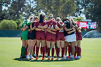 STANFORD, CA - SEPTEMBER 12: Team before a game between Loyola Marymount University and Stanford University at Cagan Stadium on September 12, 2021 in Stanford, California.