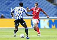 ottingham Forest's Brennan Johnson vies for possession with Sheffield Wednesday's Dominic Iorfa<br /> <br /> Photographer Rich Linley/CameraSport<br /> <br /> The EFL Sky Bet Championship - Sheffield Wednesday v Nottingham Forest - Saturday 20th June 2020 - Hillsborough - Sheffield <br /> <br /> World Copyright © 2020 CameraSport. All rights reserved. 43 Linden Ave. Countesthorpe. Leicester. England. LE8 5PG - Tel: +44 (0) 116 277 4147 - admin@camerasport.com - www.camerasport.com