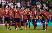 Landon Donovan, team. The USMNT tied Mexico, 1-1, during their game at Lincoln Financial Field in Philadelphia, PA.