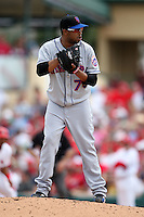 March 20, 2010:  Relief Pitcher Francisco Rodriguez (75) of the New York Mets during a Spring Training game at Roger Dean Stadium in Jupiter, FL.  Photo By Mike Janes/Four Seam Images