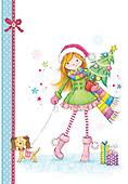 Sharon, CHRISTMAS CHILDREN, WEIHNACHTEN KINDER, NAVIDAD NIÑOS, GBSS, paintings+++++,GBSSC75XOJA,#XK#