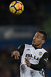 Ruben Miguel Nunes Vezo of Valencia CF in action during the La Liga 2017-18 match between Getafe CF and Valencia CF at Coliseum Alfonso Perez on December 3 2017 in Getafe, Spain. Photo by Diego Gonzalez / Power Sport Images