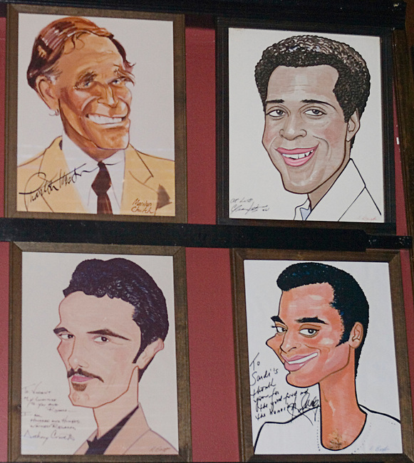 Artwork, Sardi's Restaurant, New York, New York