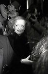 Bette Davis attends 'The Mirror Cracked' Premiere at The Ziegfield Theatre, on December 1, 1980 in<br /> New York City.