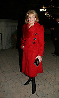 The View's Barbara Walters at the ABC Daytime Casino Night on October 23, 2008 at Guastavinos, New York CIty, New York. (Photo by Sue Coflin/Max Photos)