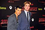 Taylor Lautner & Robert Pattinson. Premiere Amanecer-Parte I en Barcelona.