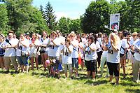 La marche <br /> Je suis Gabrielle, une campagne contre la violence amoureuse, le 14 juin 2015<br /> <br /> PHOTO :  Agence Quebec Presse