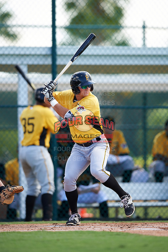 Pittsburgh Pirates Hunter Owen (67) during an Instructional League Intrasquad Black & Gold game on September 21, 2016 at Pirate City in Bradenton, Florida.  (Mike Janes/Four Seam Images)