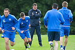 St Johnstone Training…22.07.16<br />Manager Tommy Wright watches his players during training this morning at McDiarmid Park ahead of tomorrows Betfred Cup game against Falkirk.<br />Picture by Graeme Hart.<br />Copyright Perthshire Picture Agency<br />Tel: 01738 623350  Mobile: 07990 594431