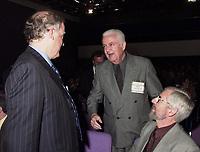 Les assises  de l'Union des Municipalitees du Quebec<br /> , du 6 au 8 mai 1999, au Palais des Congres -<br /> Ralhp Mercier, Maire de Charlesbourg<br /> <br /> <br /> PHOTO : Agence Quebec Presse