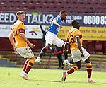 27.09.2020 Motherwell v Rangers:  Jermain Defoe with a late effort on goal