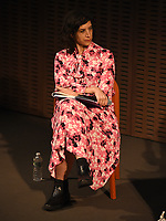 """NEW YORK CITY - OCTOBER 5: Moderator attends a WGA Screening of Hulu's """"DOPESICK"""" at the Museum of Modern Art on October 5, 2021 in New York City. . (Photo by Frank Micelotta/Hulu/PictureGroup)"""