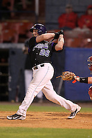 Minnesota State Mavericks Todd Standish #26 during a game vs. the Illinois State Redbirds at Chain of Lakes Park in Winter Haven, Florida;  March 4, 2011.  Illinois State defeated Minnesota State 3-2.  Photo By Mike Janes/Four Seam Images