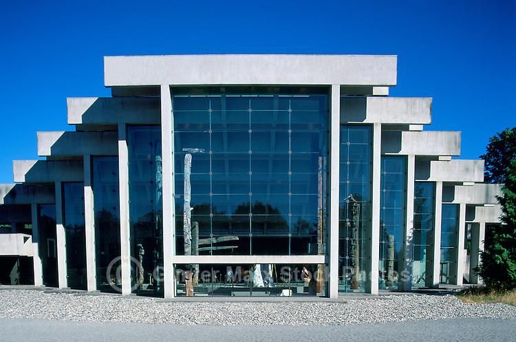 Museum of Anthropology, University of British Columbia (UBC), Vancouver, BC, British Columbia, Canada - Arthur Erickson Architect