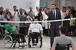 20150210 Spanish Royals Visit National Paraplegics Hospital