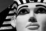 Sphinx 1: window washers, Luxor Hotel, NV.