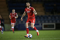 Tom Dallison of Crawley Town during Colchester United vs Crawley Town, Sky Bet EFL League 2 Football at the JobServe Community Stadium on 1st December 2020