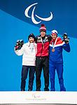 Mark Arendz, PyeongChang 2018 - Para Nordic Skiing // Ski paranordique.<br /> Mark Arendz recieves the gold medal in the men's biathlon 15km standing // Mark Arendz reçoit la médaille d'or en biathlon debout de 15 km masculin. 16/03/2018.