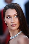 """Cannes Film Festival 2018 - 71st edition - Day 4 - May 11 in Cannes, on May 11, 2018; screening of the film """"Ash is Purest White ( Jiang hu er nv)"""" ;  US actress Bella Hadid"""