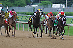 25 May 2009 : Dubai Majesty with Jamie Theriot in the irons (#5, red cap, inside) drives for the wire in the 6th running of the G3 Winning Colors stakes at Churchill Downs in Louisville, Kentucky.