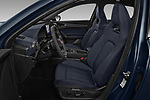 Front seat view of a 2021 Cupra Formentor SUV