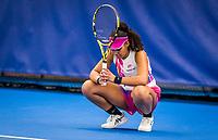 Amstelveen, Netherlands, 16  December, 2020, National Tennis Center, NTC, NK Indoor, National  Indoor Tennis Championships, :  Noa Liauw-A_Fong (NED) <br /> Photo: Henk Koster/tennisimages.com