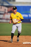 Bradenton Marauders second baseman Kevin Kramer (14) during practice before a game against the Tampa Yankees on April 11, 2016 at George M. Steinbrenner Field in Tampa, Florida.  Tampa defeated Bradenton 5-2.  (Mike Janes/Four Seam Images)