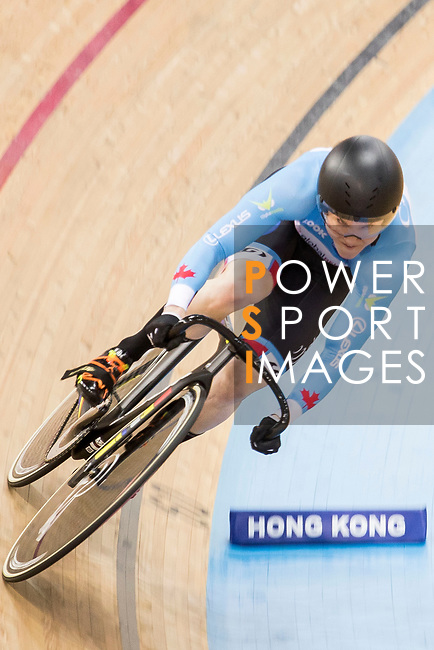 Kate O'Brien of the Canada team competes in the Women's Sprint - Qualifying as part of the 2017 UCI Track Cycling World Championships on 13 April 2017, in Hong Kong Velodrome, Hong Kong, China. Photo by Chris Wong / Power Sport Images