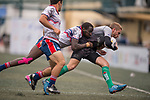 GoCloudWifi East Africans vs Devil's Advocate Silver Dragons during their Shield Semi-final as part of the GFI HKFC Rugby Tens 2017 on 06 April 2017 in Hong Kong Football Club, Hong Kong, China. Photo by Juan Manuel Serrano / Power Sport Images