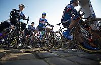 111th Paris-Roubaix 2013..2011 winner Johan Vansummeren (BEL) ready on the startline.