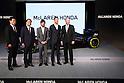 Honda Shows New F1 Car to Tokyo Press