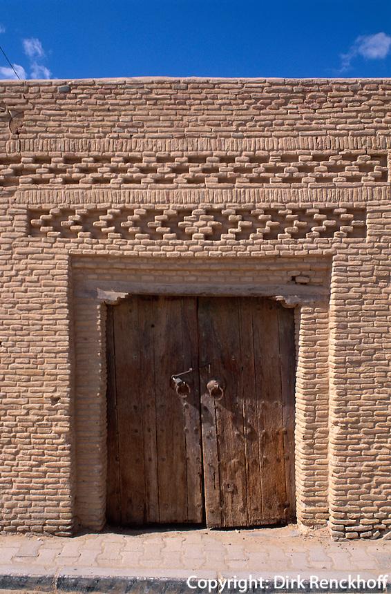 Ziegelornamente, Nefta, Tunesien