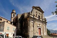 Barockkirche in Montemaggiore in der Balagne, Korsika, Frankreich