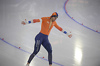 SPEEDSKATING: HEERENVEEN: 14-02-2021, IJsstadion Thialf, ISU World Speed Skating Championships 2021, Thomas Krol, ©photo Martin de Jong