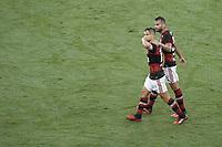 Rio de Janeiro, RJ, Brasil, 22/02/2020 - Diego comemora gol.Partida entre Boavista e Flamengo, valida pela final da Taca Guanabara, do Campeonato Carioca 2020, realizada no Estadio Mario Filho (Maracana), neste sabado (22). (Foto: Andre Fabiano/Codigo 19/Codigo 19)
