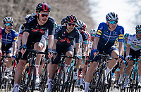 Richard Carapaz (ECU/INEOS Grenadiers) in the bunch<br /> <br /> 107th Liège-Bastogne-Liège 2021 (1.UWT)<br /> 1 day race from Liège to Liège (259km)<br /> <br /> ©kramon