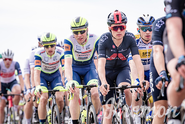 Tom Pidcock (GBR/Ineos Grenadiers) mid-race<br /> <br /> 55th Amstel Gold Race 2021 (1.UWT)<br /> 1 day race from Valkenburg to Berg en Terblijt; raced on closed circuit (NED/217km)<br /> <br /> ©kramon