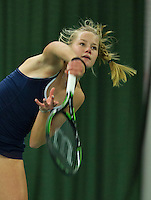 Rotterdam, The Netherlands, March 18, 2016,  TV Victoria, NOJK 14/18 years, Nina Kruijer (NED)<br /> Photo: Tennisimages/Henk Koster