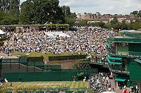 24-06-11, Tennis, England, Wimbledon, Henman Hill