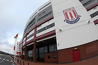 A general view of the bet365 Stadium the home of Stoke CityPhotographer Mick Walker/CameraSportThe EFL Sky Bet Championship - Stoke City v Huddersfield Town - Saturday 21st November 2020 - bet365 Stadium - StokeWorld Copyright © 2020 CameraSport. All rights reserved. 43 Linden Ave. Countesthorpe. Leicester. England. LE8 5PG - Tel: +44 (0) 116 277 4147 - admin@camerasport.com - www.camerasport.com