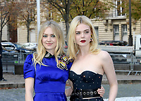 Dakota FANNING, Elle FANNING - Show MIU MIU Paris Fashion Week Womenswear Sring/Summer 2018 - 03/10/2017 - France