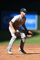 Oakland Athletics third baseman Matt Chapman (6) during an Instructional League game against the Arizona Diamondbacks on October 10, 2014 at Chase Field in Phoenix, Arizona.  (Mike Janes/Four Seam Images)